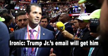 Here is the email chain that will get Donald Trump Jr. Charged