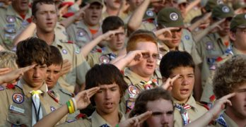 Embarrassing Trump Boy Scout rant a far cry this 16-year-old's Eagle Scout speech