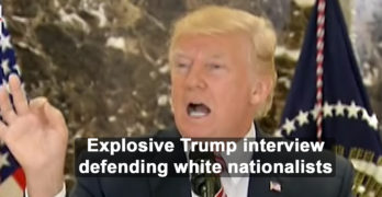 Trump comes out swinging in interview defending Charlottesville white nationalists (VIDEO)