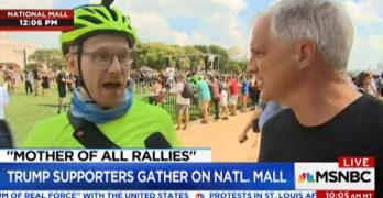 CNN cuts off man telling them they were misrepresenting Trump rally as benign (VIDEO)