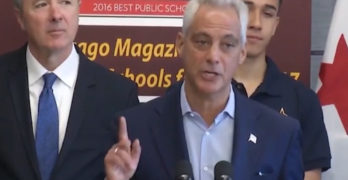 Chicago Mayor As it relates to what President Trump said, will be a Trump Free Zone (VIDEO)