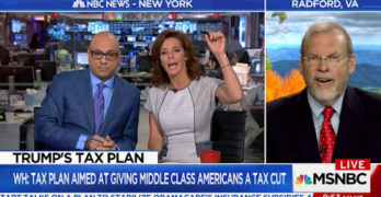 MSNBC Hosts Ali Velshi & Stephanie Ruhle grills GOP Rep president's tax cut lies