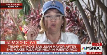 San Juan Puerto Rico's Mayor respond's to Trump's offensive tweets (VIDEO)
