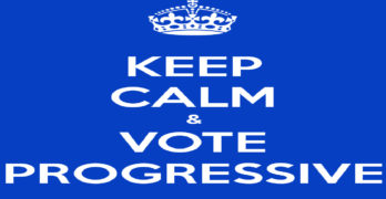 Keep calm vote progressive