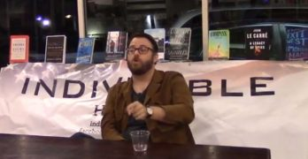Author Jared Yates Sexton book signing sponsored by Indivisible Houston (VIDEO)