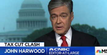 CNBC Editor-at-Large John Harwood slams the Republican tax cut scam and pointed out an unfortunate truth, Democrats are more fiscally responsible.