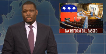 SNL Michael Che & Colin Jost turns Republican tax cut scam into the joke it is