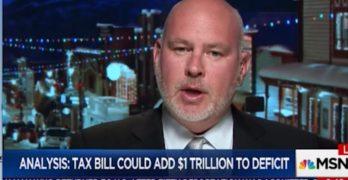 GOP strategist Steve Schmidt slams Republican Senators and the tax cut scam (VIDEO)