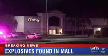 White guy allegedly detonated 2 IEDs at mall. No Trump tweet! Why?