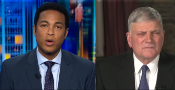 CNN Don Lemon nails Rev Franklin Graham on Evangelicals Trump hypocrisy