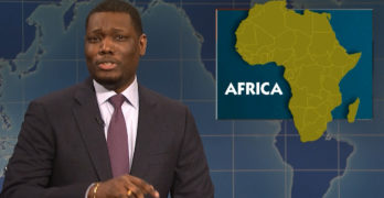 Saturday Night Live Michael Che schools Trump on sh$thole countries (VIDEO)