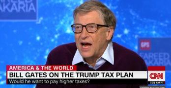 Bill Gates on Trump tax plan