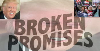 Donald Trump broken promises 2