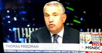 NYT Columnist Thomas Friedman goes nuclear on the Trump and Republicans (VIDEO)