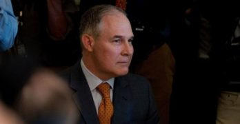 At Pruitt's EPA, changing 'P' to 'D'