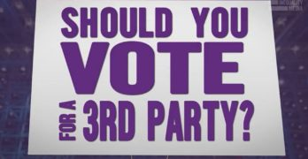 A third party How not to settle for the lesser of two evils