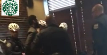 Black men arrested @ Starbucks for trespassing Remember this folks. (VIDEO)