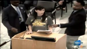 Houston Parents & Activists stopped board - No to charter schools (VIDEO)
