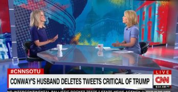 Kellyanne Conway explodes in catfight w CNN Dana Bash over spouse's tweet (VIDEO)