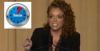 Michelle Wolf at White House Correspondents' dinner in under 5 minutes (VIDEO)