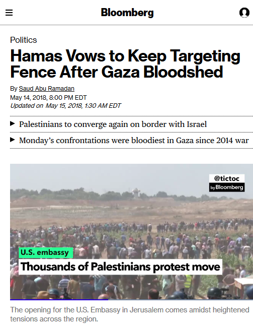 Blaming the Victims of Israel's Gaza Massacre