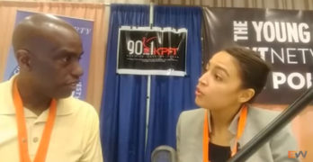I told Alexandria Ocasio-Cortez she would be the next Rep from NY-14 in this NN17 interview 2