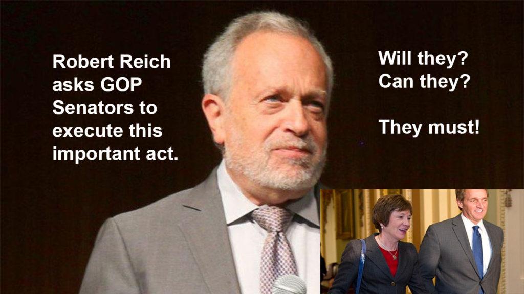 Robert Reich Senators