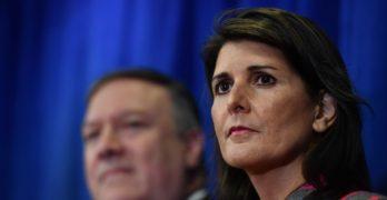 Nikki Haley resigning as U.N. Ambassador
