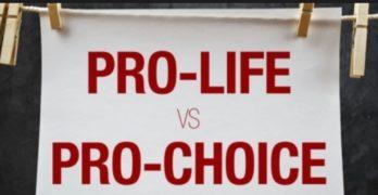 Pro-abortion Pro-life Pro-choice Anti-choice