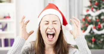 Christmas Holiday Stressful stress