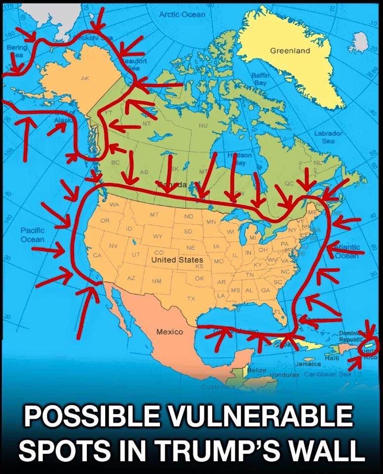Border map Julianna Forlano