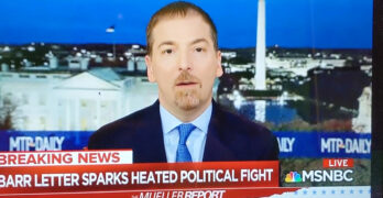Chuck Todd Journalistic points