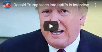 Donald Trump on tariffs