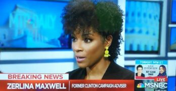 Zerlina Maxwell stopped MSNBC host's whataboutism & false equivalence in its track
