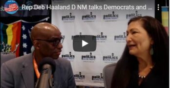Rep. Deb Haaland (D-NM) talks Democratic & Progressive values
