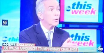 Republican Joe Walsh declares war on Trump as he enters the presidential race