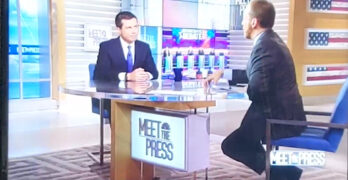 """Chuck Todd on Hillary's attack on Tulsi: """"A Trumpian move"""" as Buttigieg wimps out."""