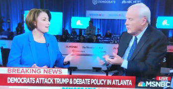 Amy Klobuchar joins Chris Mathews to slam Progressives with GOP talking points