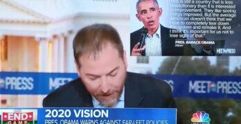 Chuck Todd President Obama Progressives