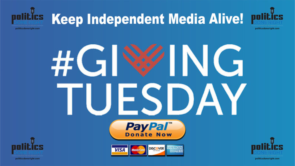 #GivingTuesday Keep Independent Media Alive