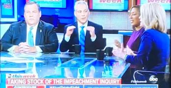 Rahm Emmanuel decimated GOP Trump-Hate impeachment talking point.