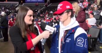 Supporter can't think of anything Trump has done well