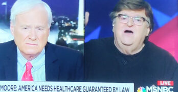 Michael Moore schools Chris Matthews on healthcare and dependency on a boss