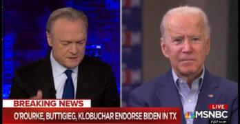 Biden's Trump-like misinformation in MSNBC interview