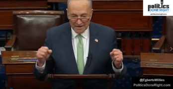 Schumer & Democrats not capitulating to McConnell & Republican's corporate stimulus bill.