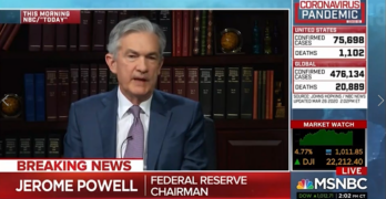 Velshi calls out Powell on 'market fundamentally sound'