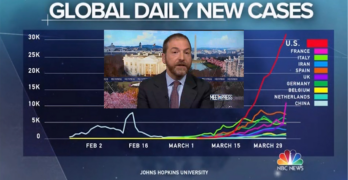 Chuck Todd excoriates Trump at the opening of Meet The Press on COVID-19 pandemic response
