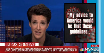 Rachel Maddow exposes inept COVID-19 purposeful response by the Trump Administration