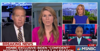Right morphs Biden into Trump to level morality field