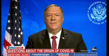 Pompeo gets caught lying about origins of COVID-19